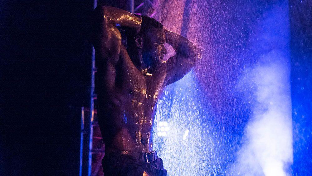 male cabaret dancers Clapham