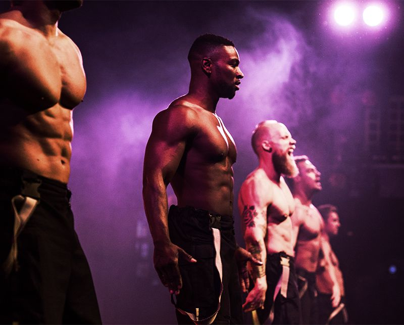 male strippers in Clapham
