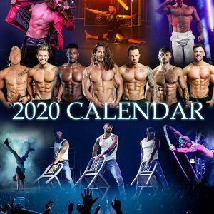 Forbidden nights 2020 calendar