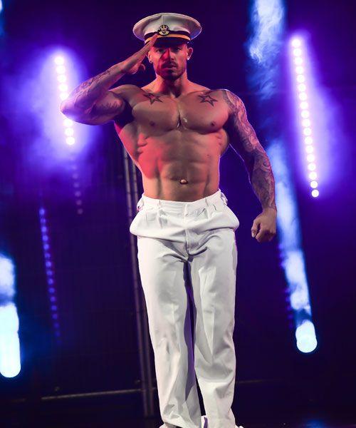 Male Strip Show UK